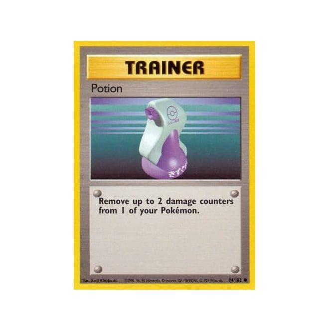 Pokemon Base Set 094/102 Potion (Trainer)