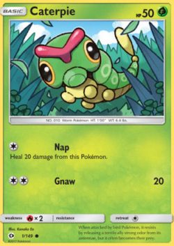 Sun and Moon Caterpie
