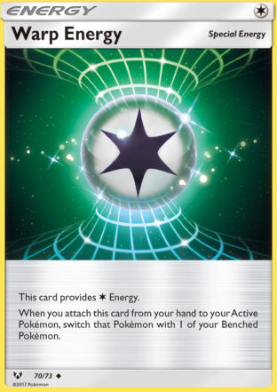 Pokemon Single Card – SHINING LEGENDS – 70/73 : Warp Energy