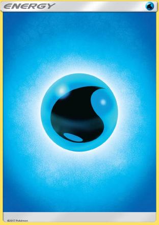 Pokemon Single Card – SHINING LEGENDS – 83/73 : Water Energy
